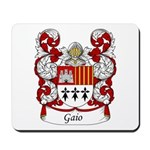Gaio Family Crest Mousepad