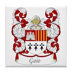 Gaio Family Crest Tile Coaster