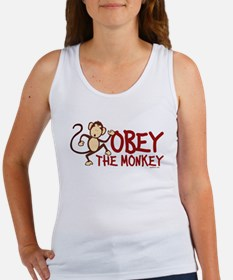 Obey The Monkey Women's Tank Top
