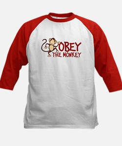 Obey The Monkey Kids Baseball Jersey
