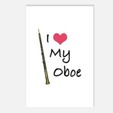 I Love My Oboe Postcards (Package of 8)