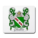 Goncalves Family Crest Mousepad