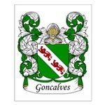 Goncalves Family Crest Small Poster
