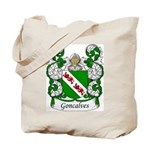 Goncalves Family Crest Tote Bag