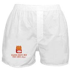Beer Helping Men Fish Boxer Shorts