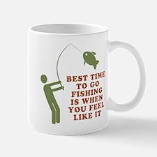 Best Time To Fish Mug