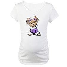 Purple Yorkie Cutie Shirt