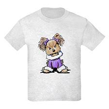 Purple Yorkie Cutie T-Shirt