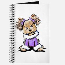 Purple Yorkie Cutie Journal