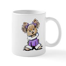 Purple Yorkie Cutie Mug