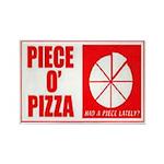 Piece O' Pizza Magnet