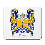 Horta Family Crest Mousepad