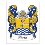 Horta Family Crest Small Poster