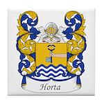 Horta Family Crest Tile Coaster