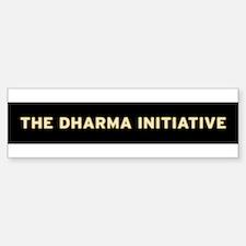 Dharma 1 Bumper Bumper Bumper Sticker