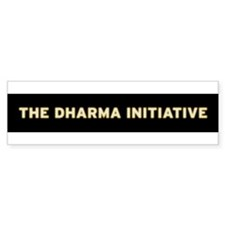 Dharma 1 Bumper Bumper Sticker