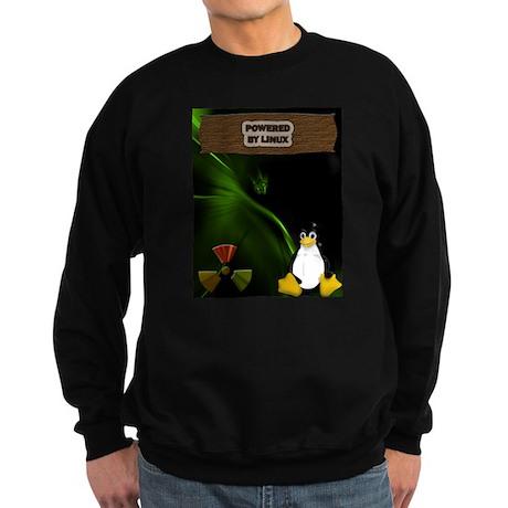 Powered By Linux Sweatshirt (dark)