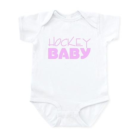 Hockey Baby (Pink) Infant Bodysuit