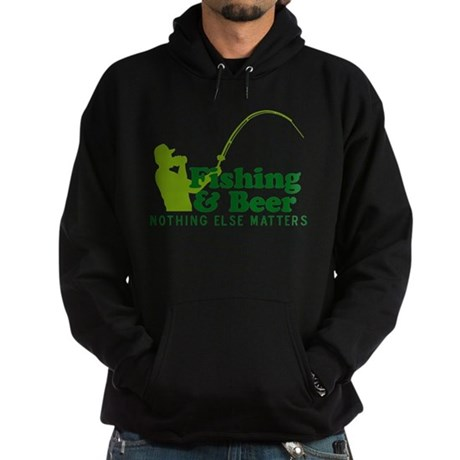 Fishing & Beer Hoodie (dark)