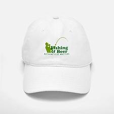 Fishing & Beer Baseball Baseball Cap