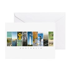 Aussie Collage Greeting Cards (Pk of 10)