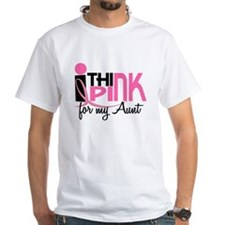 I Think Pink For My Aunt 1 Shirt