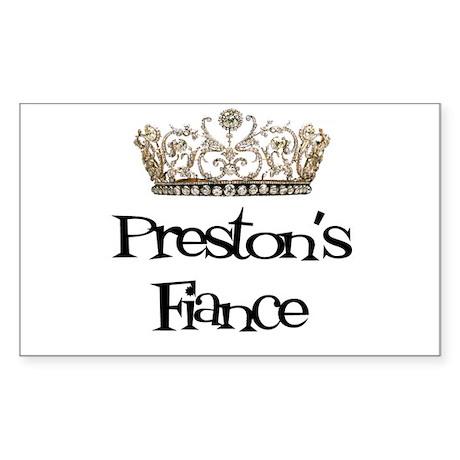 Preston's Fiance Rectangle Sticker
