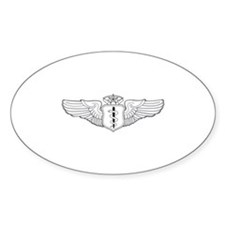Flight Surgeon Oval Decal