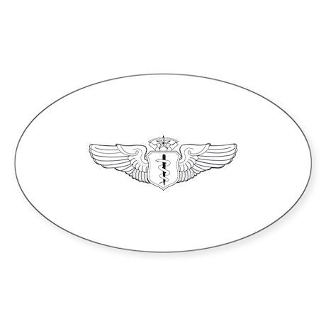 Flight Surgeon Oval Sticker