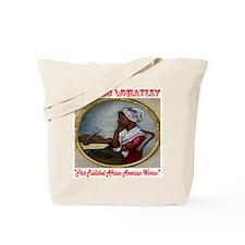 Phyllis Wheatley Tote Bag