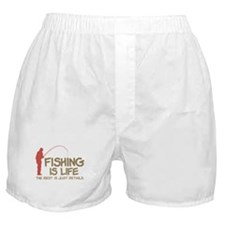 Fishing Is Life Boxer Shorts