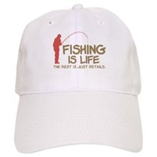 Fishing Is Life Baseball Cap