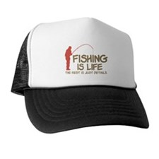 Fishing Is Life Trucker Hat