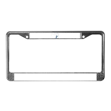 Flycasting License Plate Frame