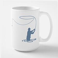 Flycasting Large Mug
