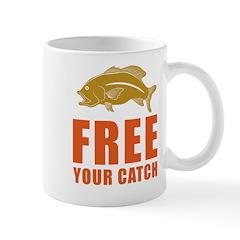 Free You Catch Mug
