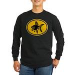 Goldfish Long Sleeve Dark T-Shirt