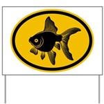 Goldfish Yard Sign