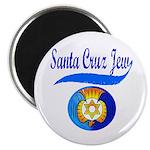 Santa Cruz Jew Magnet