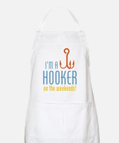 Hooker On Weekends BBQ Apron