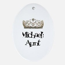 Michael's Aunt Oval Ornament