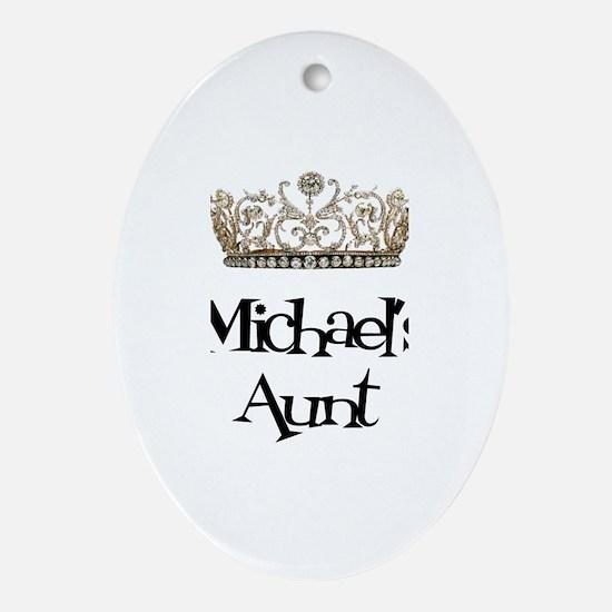 Michael's Aunt Oval Ornament