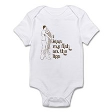 I Kiss My Fish On The Lips Infant Bodysuit