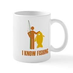 I Know Fishing Mug