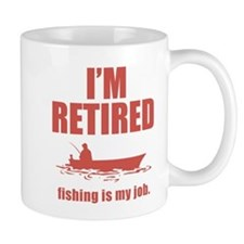 Fishing Is My Job Mug