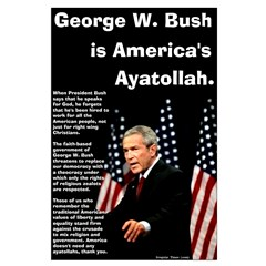 Bush Ayatollah Posters