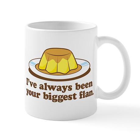 Biggest Flan - Mug (Handle Right)