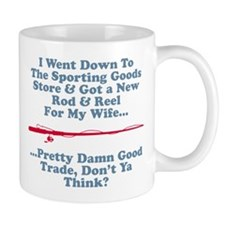 New Rod & Reel For Wife Mug