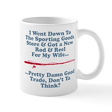 New Rod & Reel For Wife Mug
