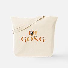 Qi Gong Design Tote Bag